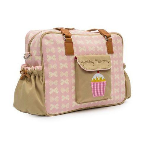 Pink lining torba do wózka yummy mummy, różowy (5060434622228)