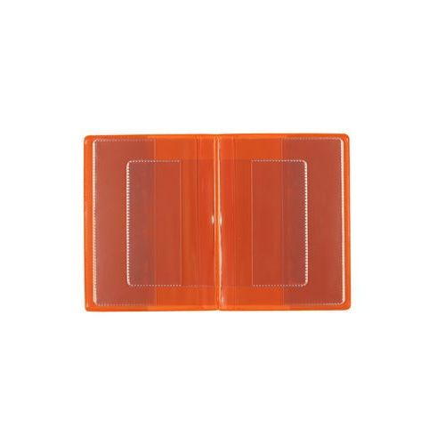 Okładka etui na legitymację szkolną, dokumenty - pomarańczowy