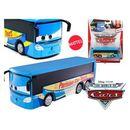 Cars - auta emmanuel autobus paryż deluxe  wyprodukowany przez Mattel