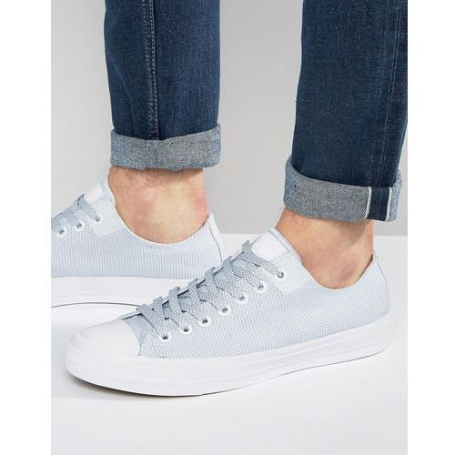 Converse Chuck Taylor All Star II Ox Woven Plimsolls In White 155537C - White