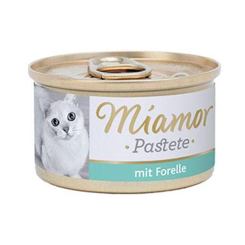 MIAMOR Katzenzarte Fleischpastete - pasztet mięsny smak: pstrąg 12x85g (42028505)