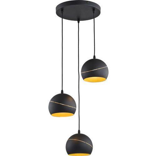 Żyrandol lanku yoda black orbit 3xe27/60w/230v marki Tk lighting