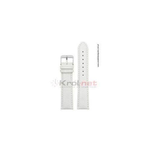 Pasek tk009b/24xl - biały, lekko błyszczący, long marki Tekla
