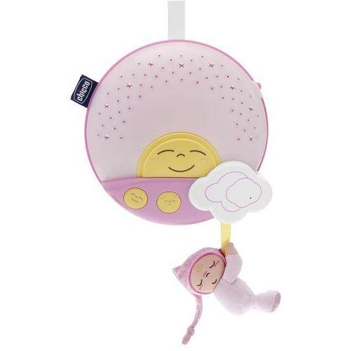 Zabawka CHICCO Panel na Łóżeczko Sunset Różowy (8058664024643)