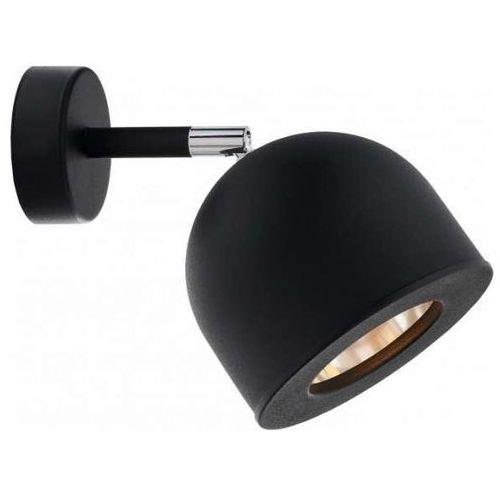 Kaspa Kinkiet lampa ścienna pilar 50804102 metalowa oprawa regulowany reflektorek czarny