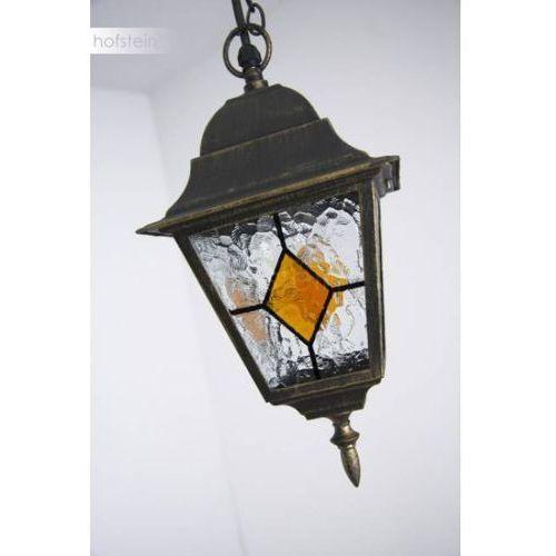 Oświetlenie brilliant Brilliant jason zewnętrzna lampa wisząca czarny, rudy, brązowy, 1-punktowy