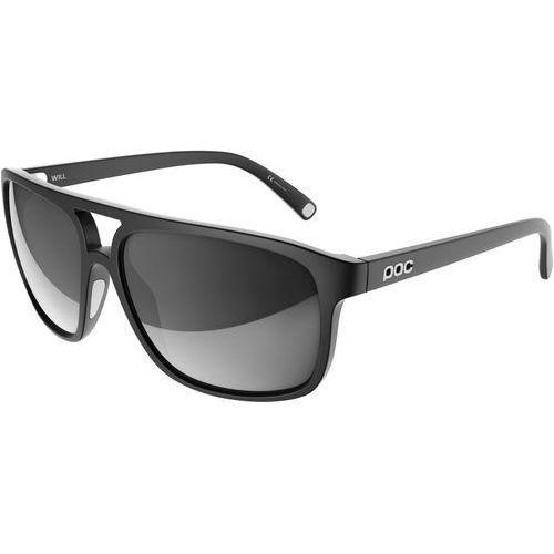 Poc will okulary rowerowe, uranium black/hydrogen white 2020 okulary przeciwsłoneczne