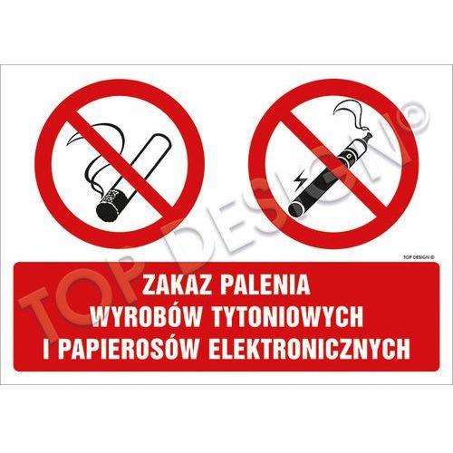 Zakaz palenia wyrobów tytoniowych i papierosów elektronicznych. Najniższe ceny, najlepsze promocje w sklepach, opinie.