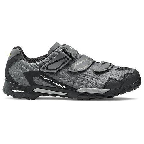 Northwave outcross buty mężczyźni szary 43 2018 buty mtb zatrzaskowe