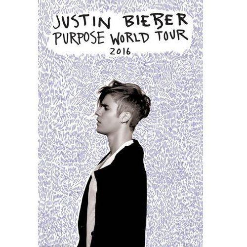 Justin Bieber Purpose World Tour - plakat (5028486346219)