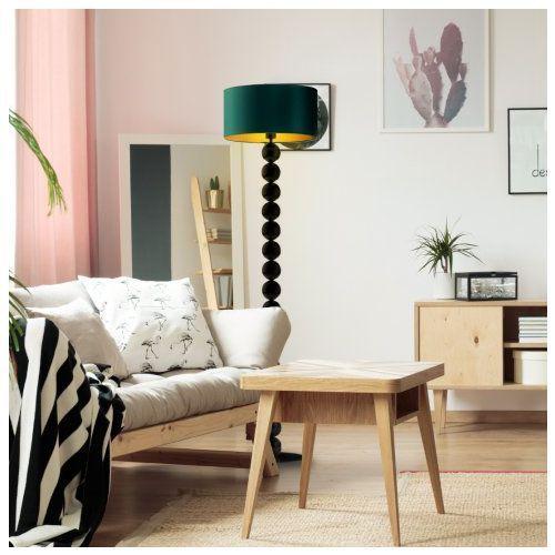 Nowoczesna lampa podłogowa do sypialni GIZA GOLD