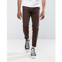 Dickies 872 Work Pant Chino in Slim Fit - Brown