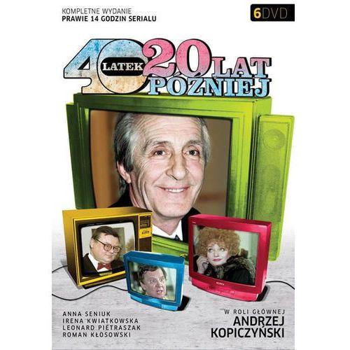 OKAZJA - Czterdziestolatek 20 lat później (6xDVD) - Jerzy Gruza DARMOWA DOSTAWA KIOSK RUCHU (7321997120032)