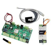 OptimaGSM-PS Zestaw alarmowy, centrala alarmowa, zasilacz, antena i kabel do programowania ROPAM, OptimaGSM + PSR-ECO