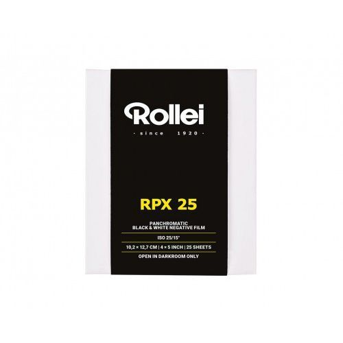 "ROLLEI RPX 25 4x5""/25 szt."