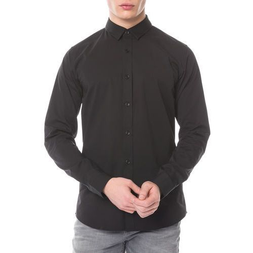 Calvin Klein Koszula Czarny L, 1 rozmiar