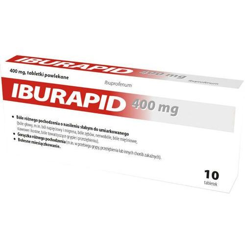 Iburapid 400mg x 10 tabletek marki Nord farm