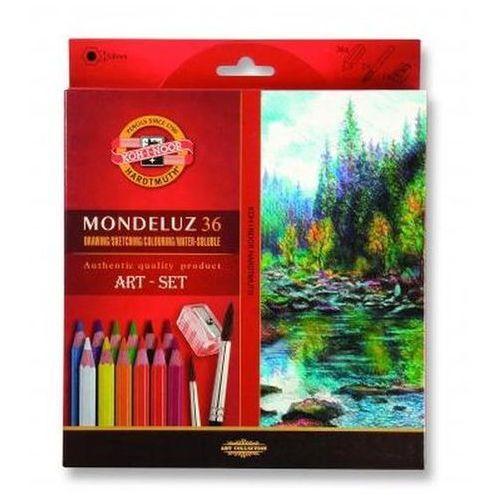Koh-i-noor Kredki mondeluz 36 kolorów + pędzel