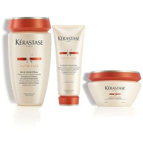 Kerastase Magistral | Zestaw do włosów grubych i mocno przesuszonych: kąpiel 250ml + odżywka 200ml + maska 200ml
