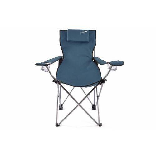 Krzesło DIVERO turystyczne wędkarskie,składane z oparciem