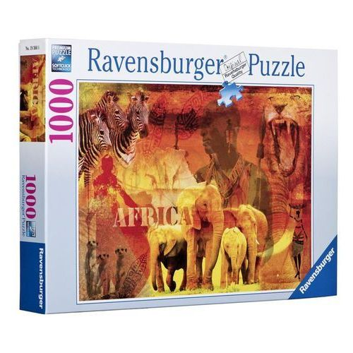 Puzzle  1000 zwierzęta afryka marki Ravensburger
