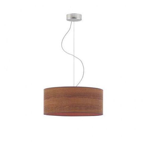 Lampa kuchenna z fornirowym abażurem hajfa eco fi - 40 cm - kolor kasztanowy marki Lysne