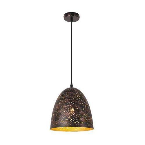 Lampa wisząca zwis oprawa Rabalux Shane 1X40W E27 złoty 2560