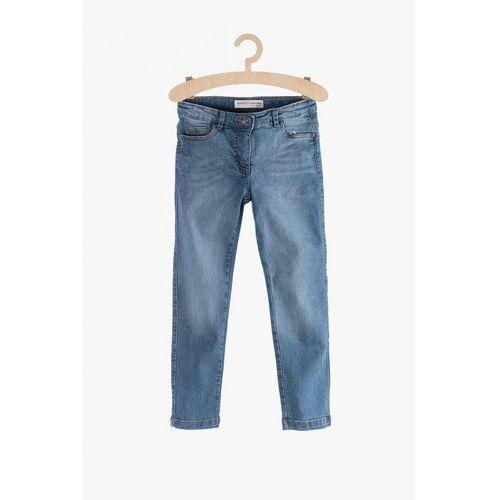 Jeansy dla dziewczynki-niebieskie 4l38a4 marki Minoti