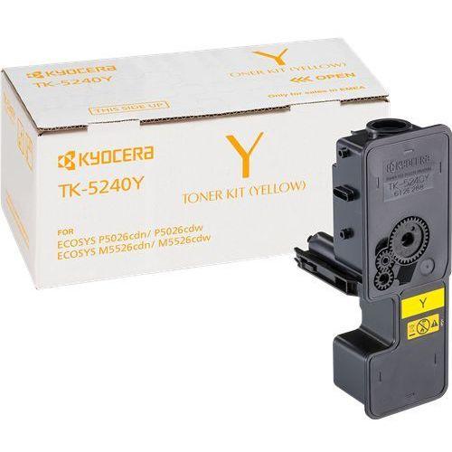 Kyocera  toner yellow tk-5240y, tk5240y, 1t02r7anl0