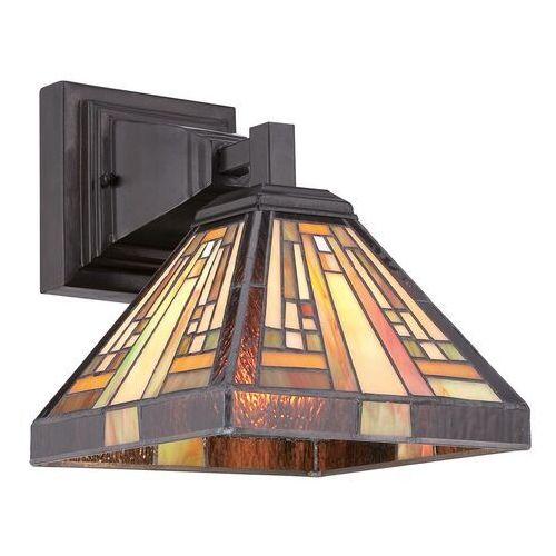 Lampa ścienna stephen w stylu tiffany marki Elstead