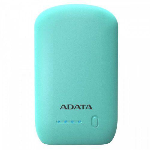 Adata power bank p10050 10500mah błękitny 2.4a (4713218463777)
