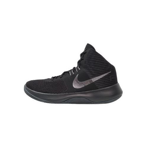 Nike Performance AIR PRECISION NBK Obuwie do koszykówki black/metallic dark grey/cool grey/white, 898452