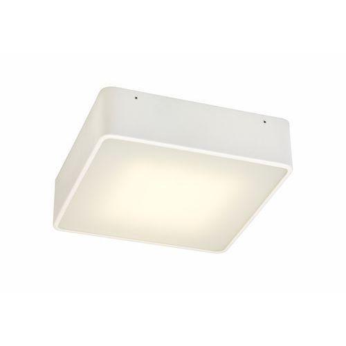 Plafon LAMPA sufitowa FLAT LED 25W 30296101 Kaspa minimalistyczna OPRAWA metalowa kwadratowa biała (5902047301407)