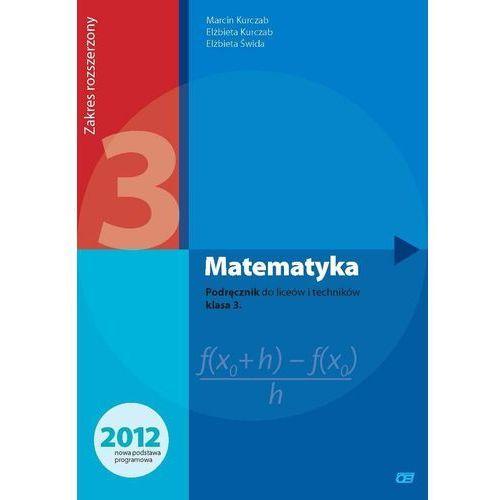 Matematyka LO kl.3 podręcznik / zakres rozszerzony (456 str.)