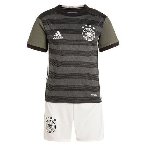 adidas Performance DFB GERMANY Koszulka reprezentacji dark grey/offwhite/green (4056559411121)
