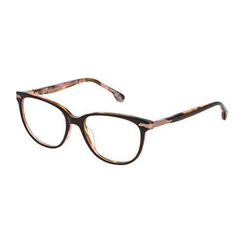 Okulary korekcyjne vl4107 0at6 marki Lozza