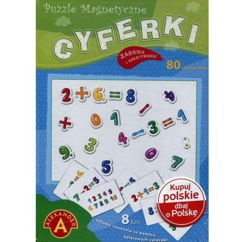Puzzle magnetyczne Cyferki (5906018017380)