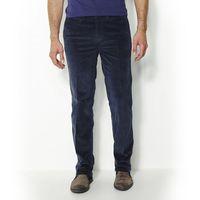 Castaluna for men Spodnie typu chino z weluru ze streczem, regulacja obwodu pasa