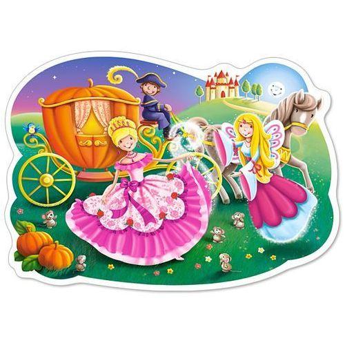 1-120147 Puzzle Kopciuszek przy swojej karocy - PUZZLE DLA DZIECI