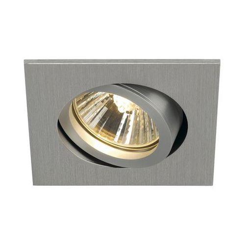 Spotline Oczko new tria 68 gu10 kwadratowe aluminium szczotkowane, 113476