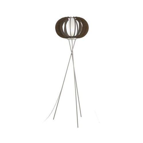 Lampa podłogowa Eglo Stellato 3 95596 oprawa stojąca 1x60W E27 brązowy (9002759955960)