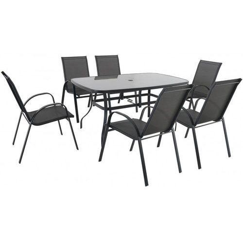 metalowe krzesło (z zestawu verona 6+) marki Riwall