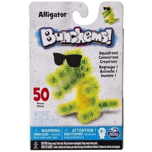 Bunchems kolorowe rzepy - kumple aligator marki Spin master