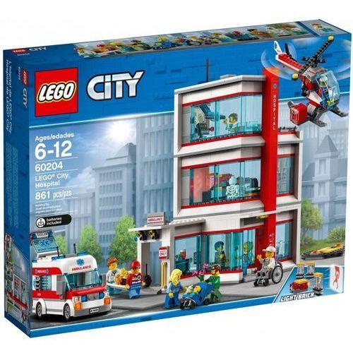 Lego CITY Szpital hospital 60204. Najniższe ceny, najlepsze promocje w sklepach, opinie.