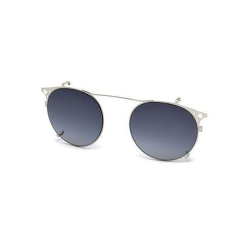 Okulary Słoneczne Swarovski SK 5167 Clip On 16B, kolor żółty
