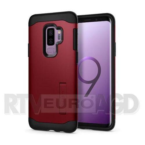 Spigen Slim Armor 593CS22969 Samsung Galaxy S9+ (czerwony), kolor czerwony