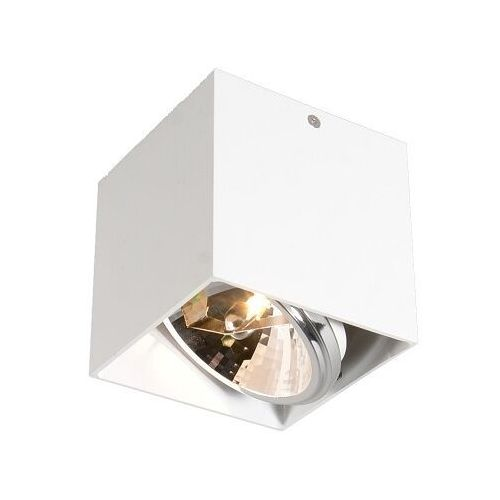 Zuma line Lampa sufitowa spot box sl 1 biała bzl, 89947