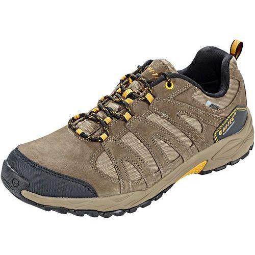 Hi-tec alto ii low wp buty mężczyźni brązowy uk 8 | eu 42 2018 buty turystyczne