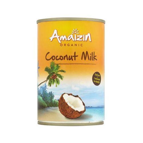400ml mleko kokosowe 17% bio marki Amaizin