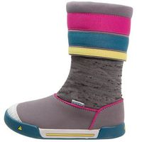 Keen ENCANTO MADISON Buty trekkingowe shark/very berry, kolor szary